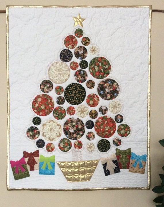 Modern Christmas Quilt Pattern
