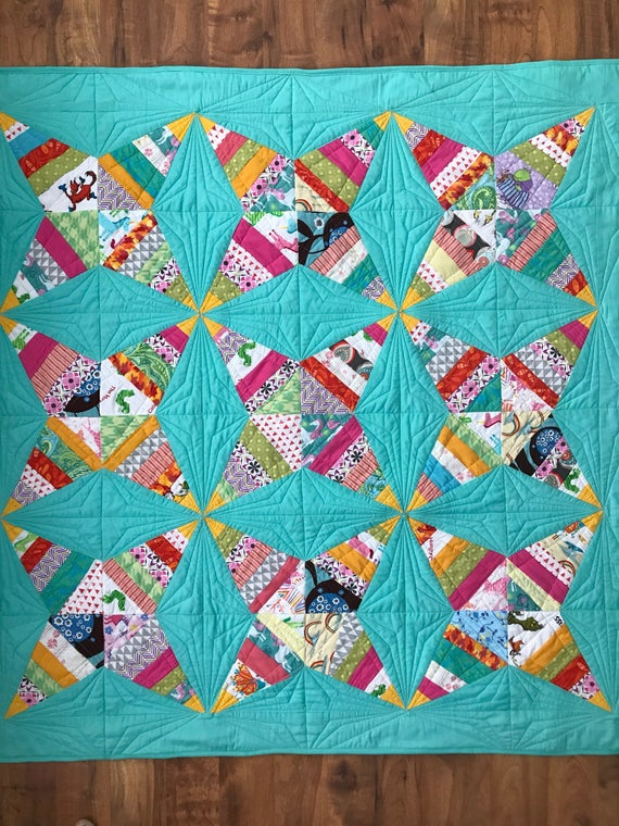 Christmas Quilt Pattern for Beginners