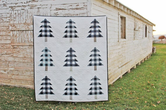 Christmas Tree Farm Quilt Pattern