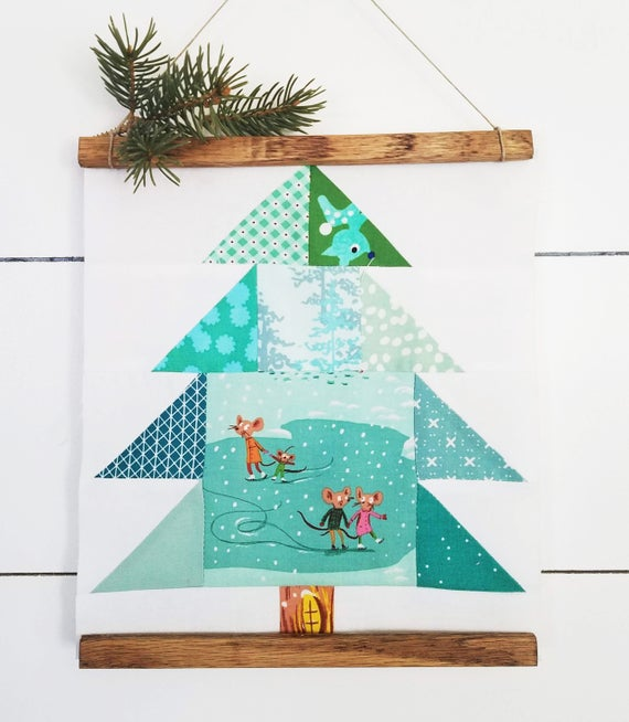 Christmas Pines Quilt Pattern