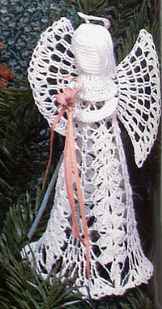 Crochet Standing Angel Pattern