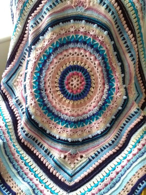 Crochet Mandala Blanket