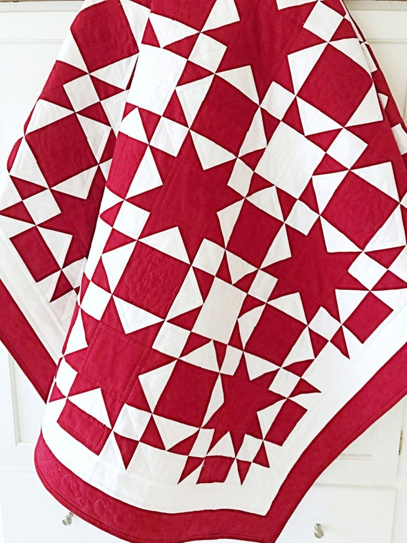 White Christmas Quilt Pattern