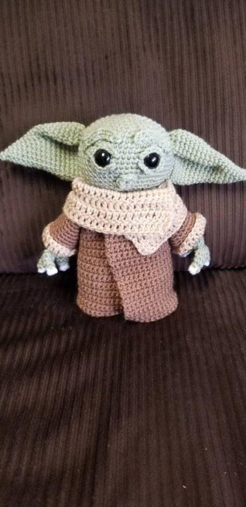 Crochet Baby Yoda Pattern Free