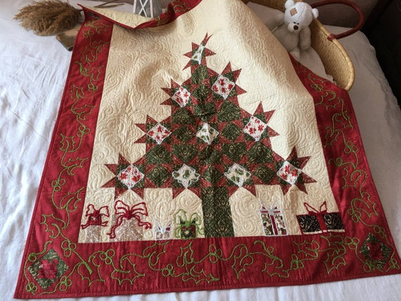 Christmas Tree Quilt Pattern
