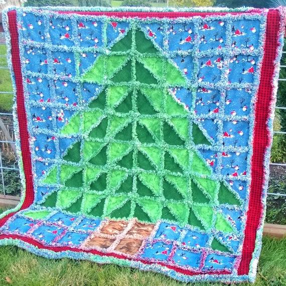 Christmas Rag Quilt Pattern Free
