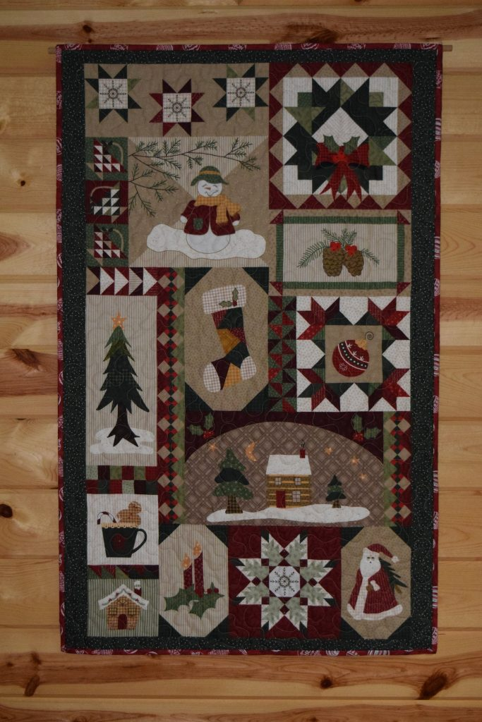 Free Christmas Wall Quilt Pattern