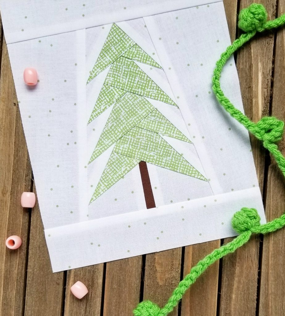 Free Paper Pieced Quilt Pattern for Christmas