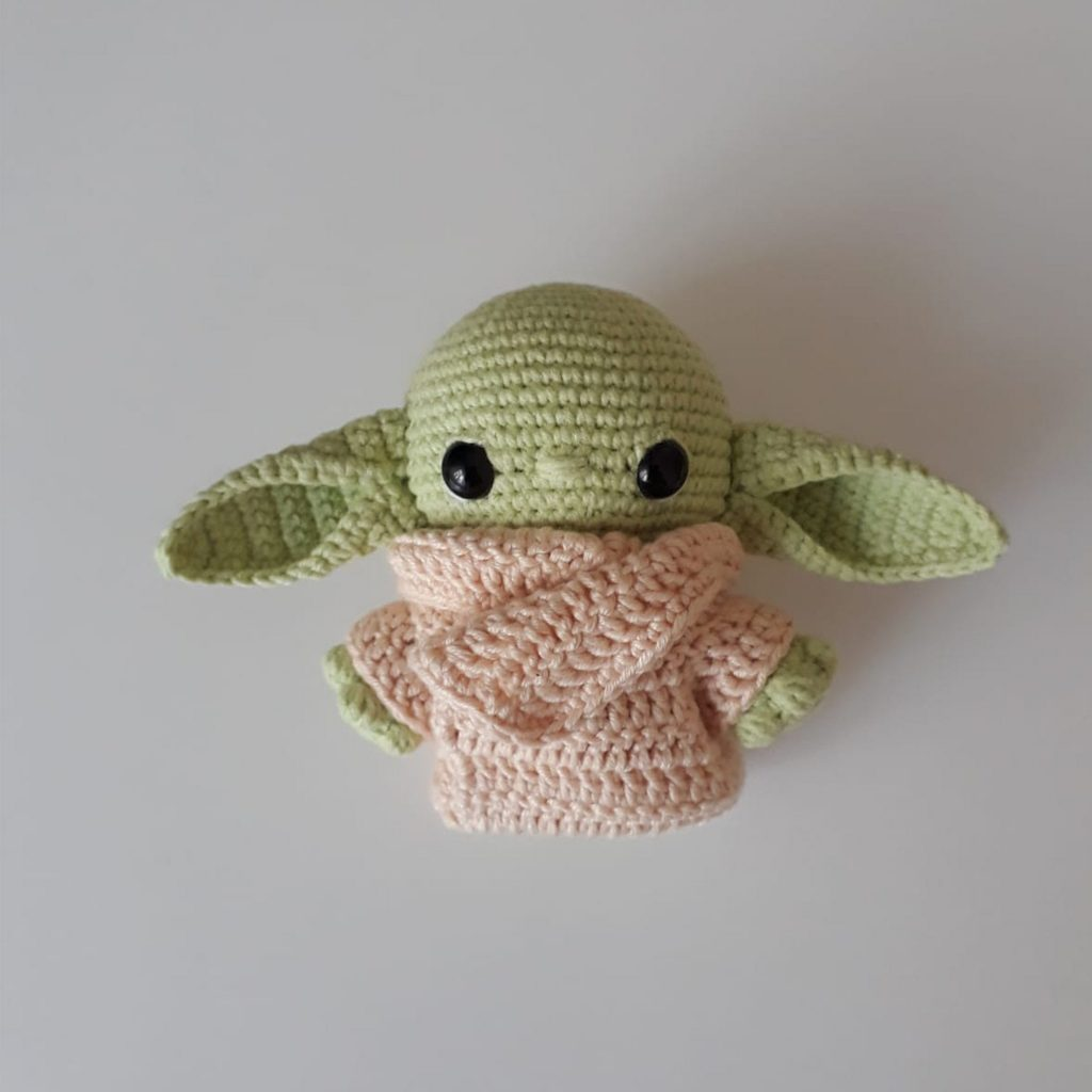 Baby Yoda Crochet Pattern