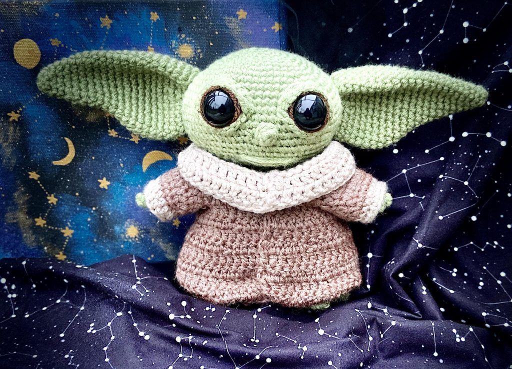Crochet Baby Yoda Pattern